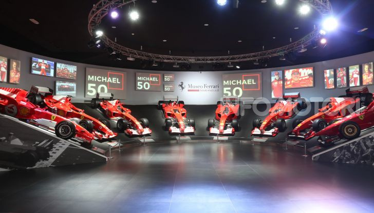 Michael 50, la mostra dedicata a Michael Schumacher - Foto 3 di 15