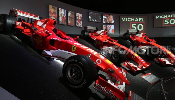 Michael 50, la mostra dedicata a Michael Schumacher - Foto 4 di 15