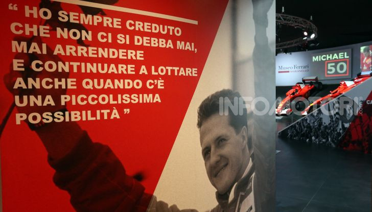 Michael 50, la mostra dedicata a Michael Schumacher - Foto 5 di 15