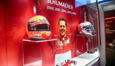 Michael 50, la mostra dedicata a Michael Schumacher