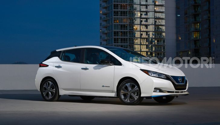 Nissan Leaf 3.Zero, nuova versione da 42.080€ - Foto 5 di 16