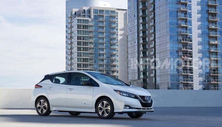 Nissan Leaf 3.Zero, nuova versione da 42.080€ - Foto 1 di 16