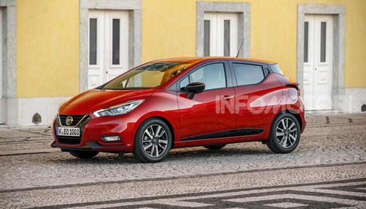 Nuova Nissan Micra 2019: cambio automatico X-Tronic e più sportività - Foto 30 di 40