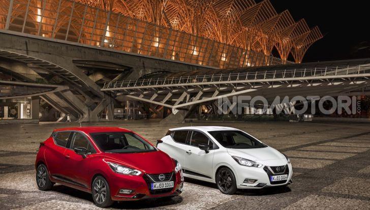Nuova Nissan Micra 2019: cambio automatico X-Tronic e più sportività - Foto 32 di 40