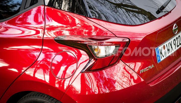Nuova Nissan Micra 2019: cambio automatico X-Tronic e più sportività - Foto 14 di 40