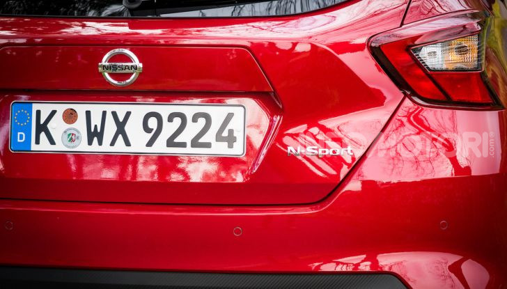 Nuova Nissan Micra 2019: cambio automatico X-Tronic e più sportività - Foto 16 di 40