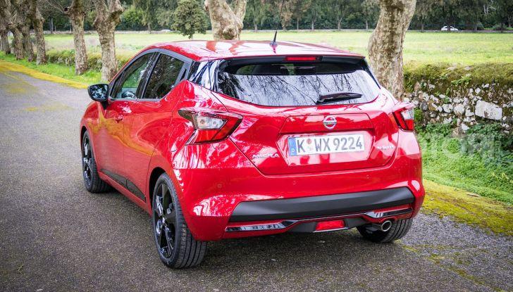 Nuova Nissan Micra 2019: cambio automatico X-Tronic e più sportività - Foto 17 di 40