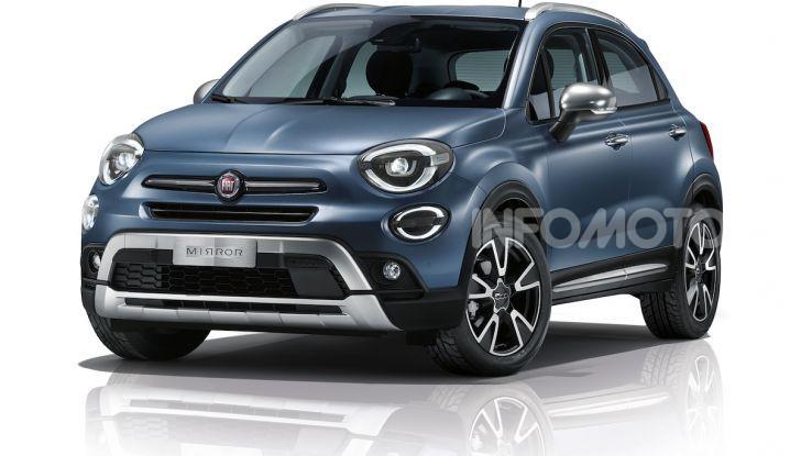 Nuova Fiat 500X Mirror 2019: sempre connessa grazie al nuovo Uconnect - Foto 4 di 6