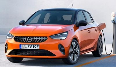 Opel Corsa elettrica 2019 prezzo e dati tecnici della Corsa-e