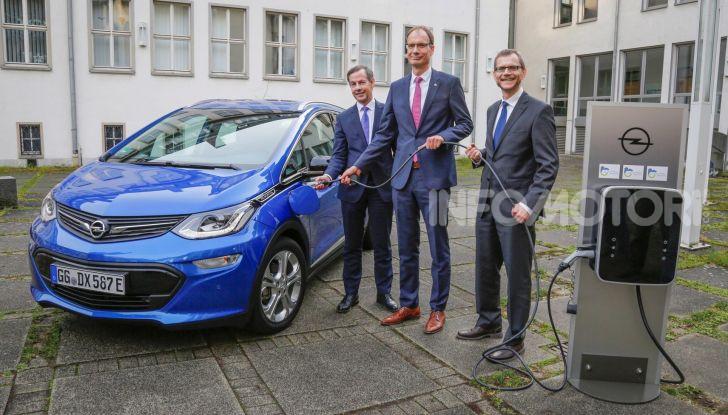 Opel diventa elettrica con il piano PACE! - Foto  di