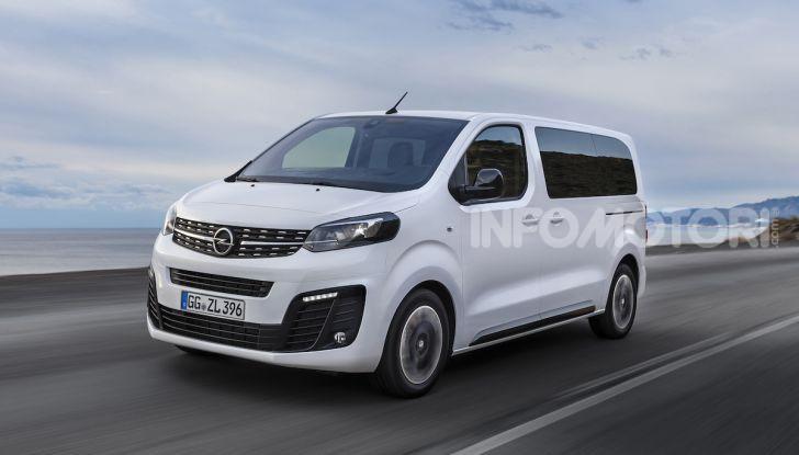 Nuova Opel Zafira Life: il monovolume arriva alla quarta serie - Foto 1 di 11