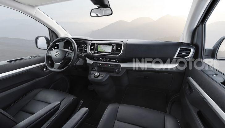 Nuova Opel Zafira Life: il monovolume arriva alla quarta serie - Foto 11 di 11