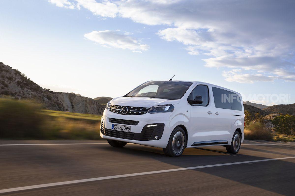 Schema Elettrico Opel Zafira : Nuova opel zafira life prezzi motori e allestimenti infomotori