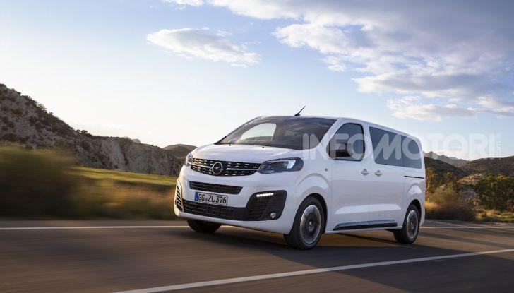 Nuova Opel Zafira Life: il monovolume arriva alla quarta serie - Foto 2 di 11