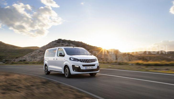 Nuova Opel Zafira Life: il monovolume arriva alla quarta serie - Foto 3 di 11