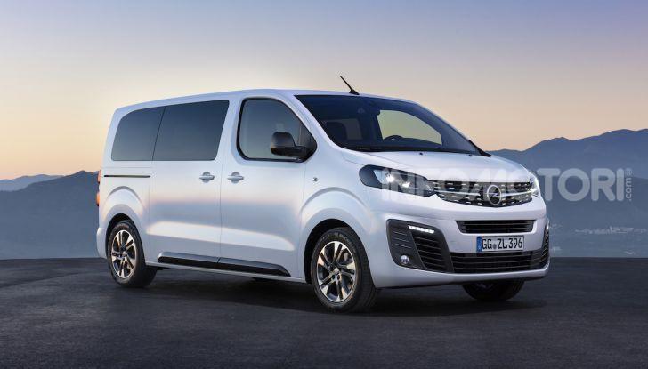 Prova Opel Zafira Life 2019, praticità e comfort fino a 9 posti - Foto 13 di 24