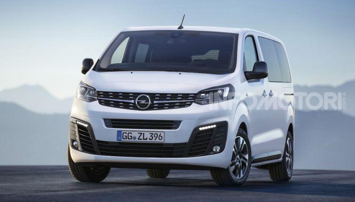 Nuova Opel Zafira Life: il monovolume arriva alla quarta serie - Foto 5 di 11