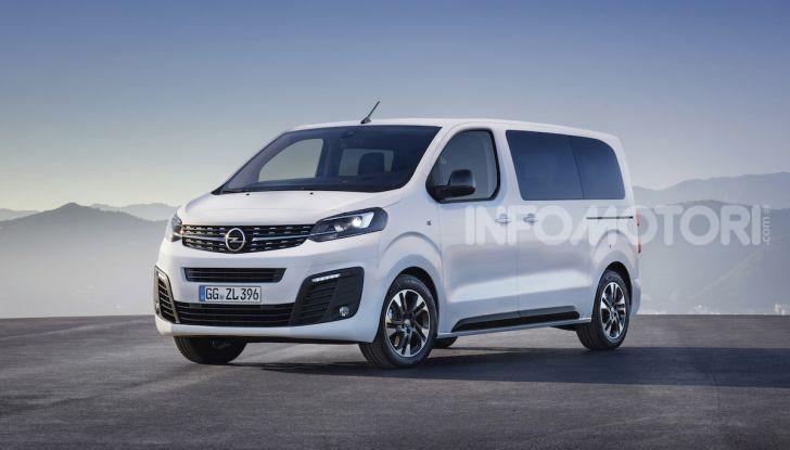 Nuova Opel Zafira Life: il monovolume arriva alla quarta serie - Foto 6 di 11