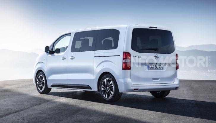 Prova Opel Zafira Life 2019, praticità e comfort fino a 9 posti - Foto 22 di 24