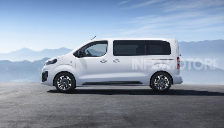Nuova Opel Zafira Life: il monovolume arriva alla quarta serie - Foto 8 di 11
