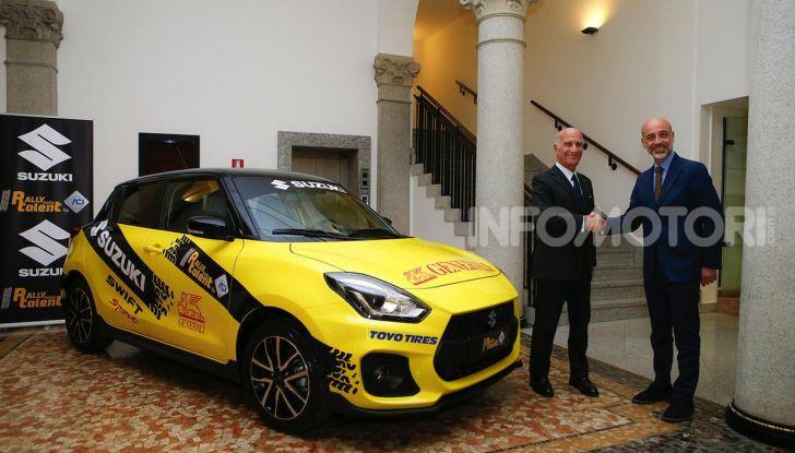 Suzuki Swift Sport: versione ad hoc per l'ACI Rally Italia Talent - Foto 13 di 25