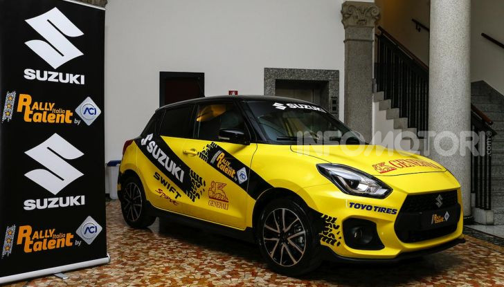 Suzuki Swift Sport: versione ad hoc per l'ACI Rally Italia Talent - Foto 14 di 25