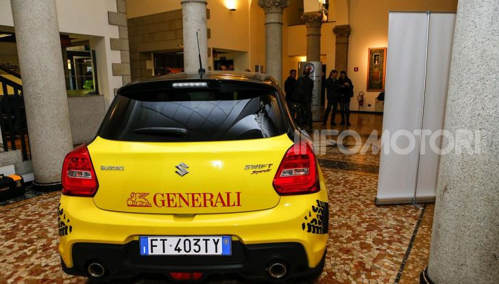 Suzuki Swift Sport: versione ad hoc per l'ACI Rally Italia Talent - Foto 15 di 25