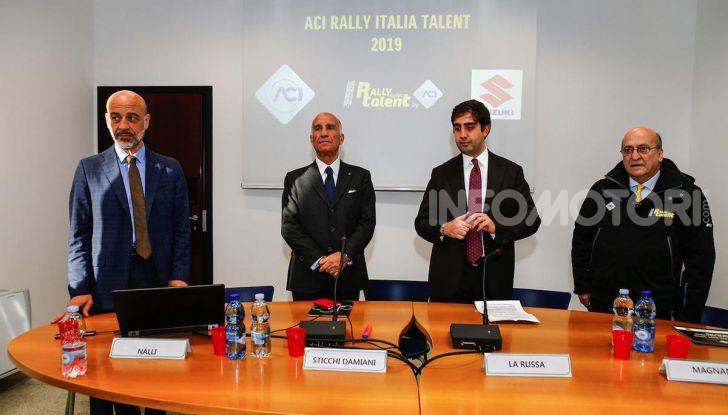 Suzuki Swift Sport: versione ad hoc per l'ACI Rally Italia Talent - Foto 17 di 25