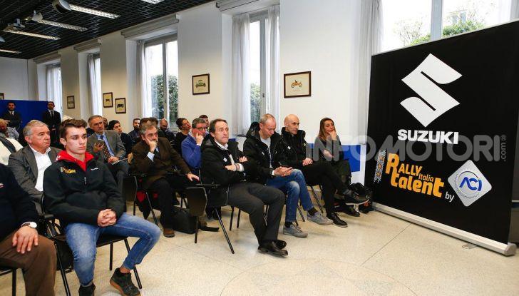 Suzuki Swift Sport: versione ad hoc per l'ACI Rally Italia Talent - Foto 22 di 25