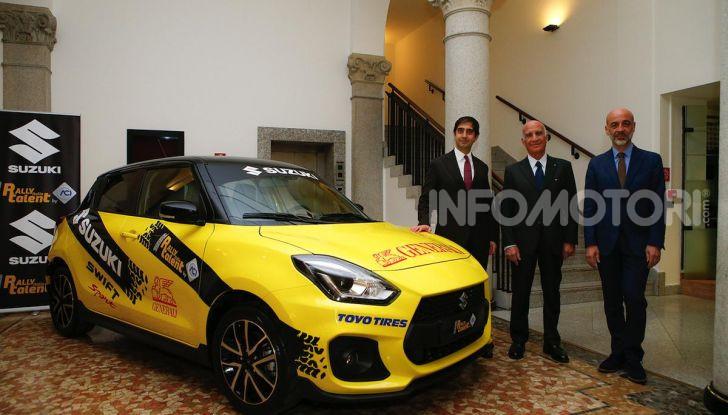 Suzuki Swift Sport: versione ad hoc per l'ACI Rally Italia Talent - Foto 16 di 25