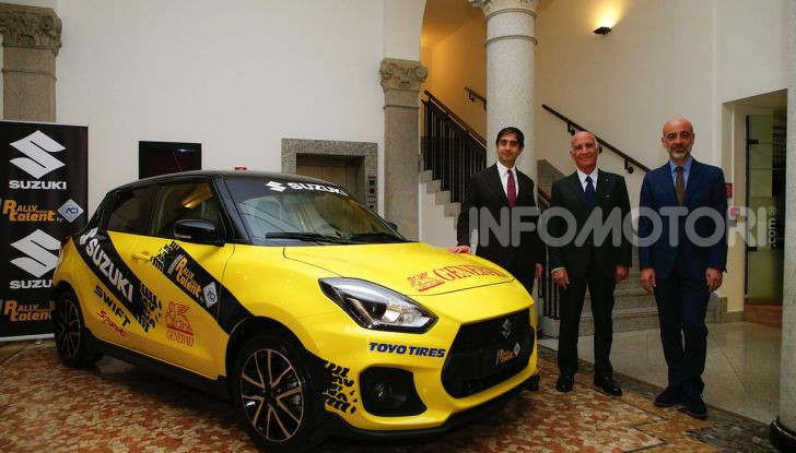 Suzuki Swift Sport: versione ad hoc per l'ACI Rally Italia Talent - Foto 16 di 25