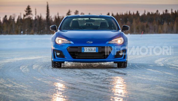 Gamma Subaru provata su strada e neve in Finlandia - Foto 10 di 28