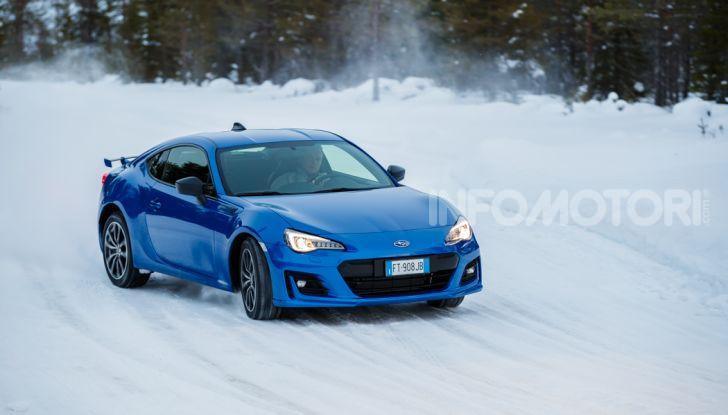 Gamma Subaru provata su strada e neve in Finlandia - Foto 6 di 28