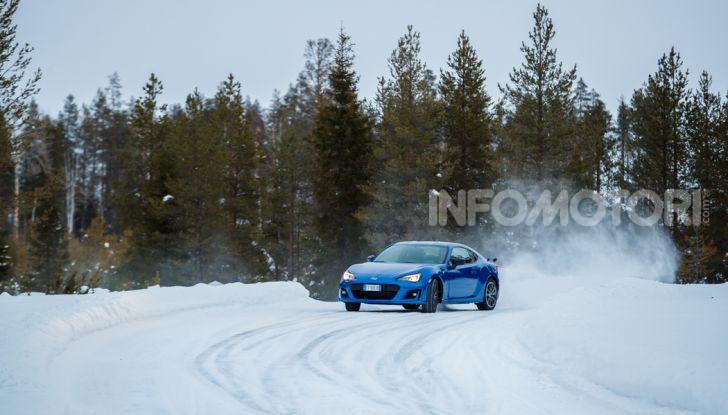 Gamma Subaru provata su strada e neve in Finlandia - Foto 7 di 28