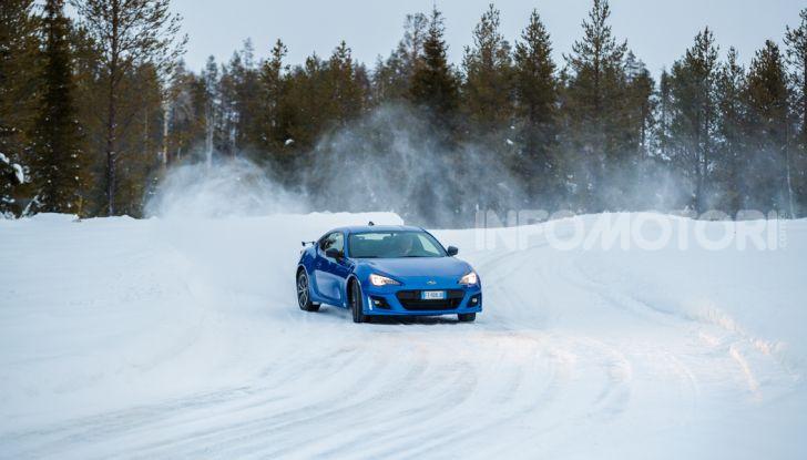 Gamma Subaru provata su strada e neve in Finlandia - Foto 8 di 28