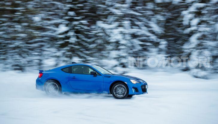 Gamma Subaru provata su strada e neve in Finlandia - Foto 9 di 28