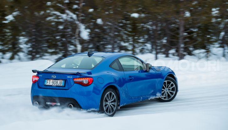 Gamma Subaru provata su strada e neve in Finlandia - Foto 11 di 28