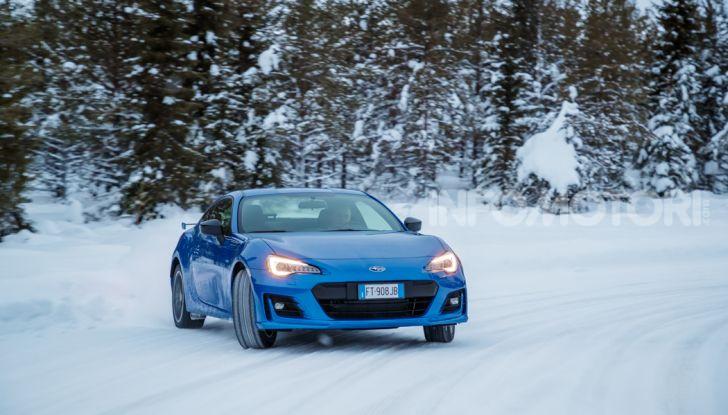 Gamma Subaru provata su strada e neve in Finlandia - Foto 12 di 28