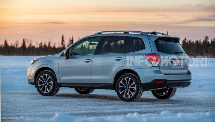 Gamma Subaru provata su strada e neve in Finlandia - Foto 13 di 28