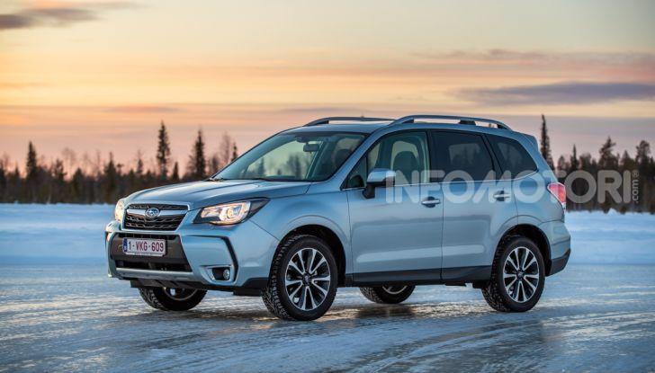 Gamma Subaru provata su strada e neve in Finlandia - Foto 15 di 28