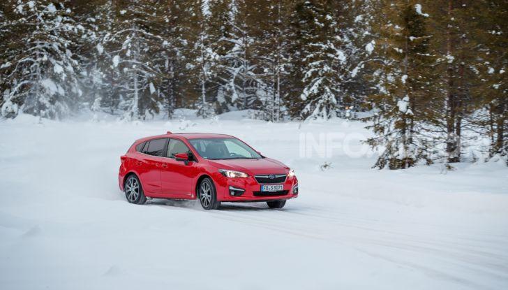 Gamma Subaru provata su strada e neve in Finlandia - Foto 16 di 28