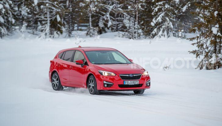 Gamma Subaru provata su strada e neve in Finlandia - Foto 17 di 28