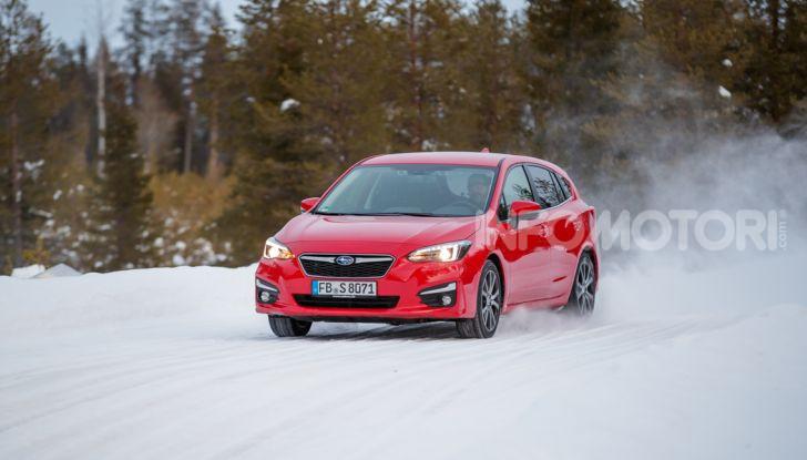 Gamma Subaru provata su strada e neve in Finlandia - Foto 18 di 28