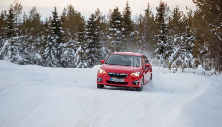 Gamma Subaru provata su strada e neve in Finlandia - Foto 19 di 28