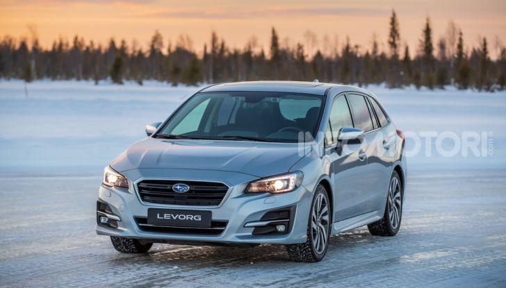Gamma Subaru provata su strada e neve in Finlandia - Foto 20 di 28