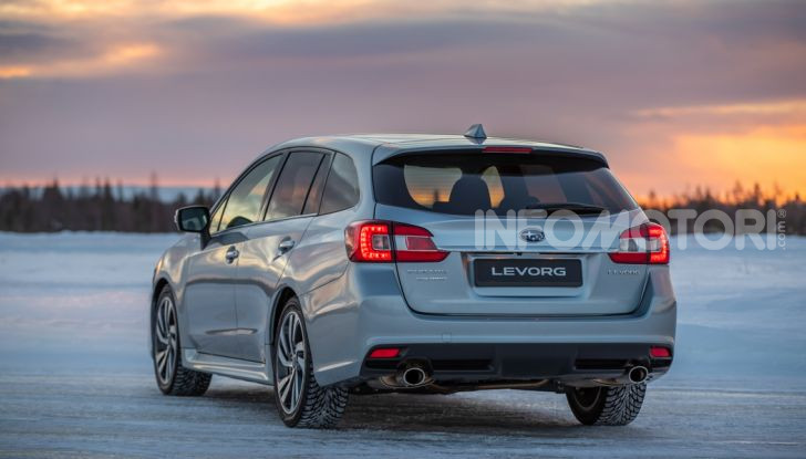 Gamma Subaru provata su strada e neve in Finlandia - Foto 21 di 28