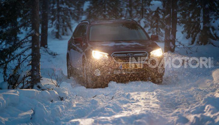 Gamma Subaru provata su strada e neve in Finlandia - Foto 22 di 28