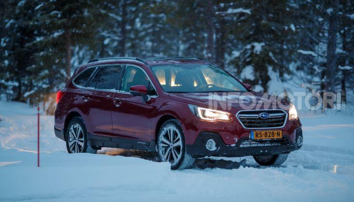 Gamma Subaru provata su strada e neve in Finlandia - Foto 24 di 28