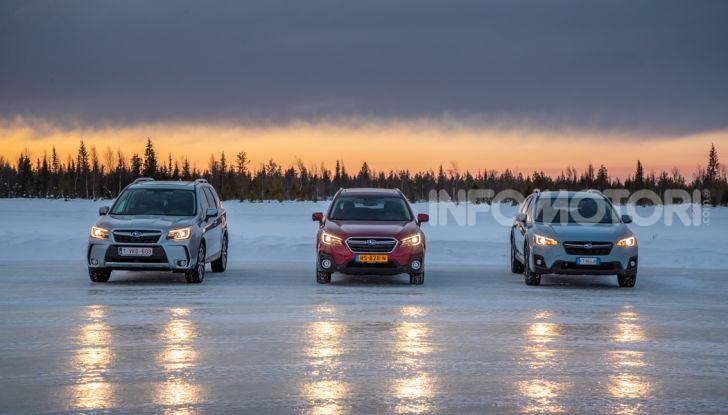 Gamma Subaru provata su strada e neve in Finlandia - Foto 2 di 28
