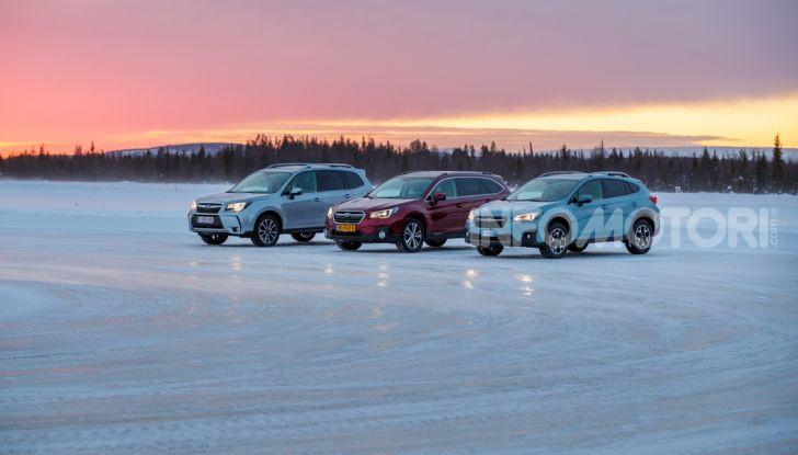 Gamma Subaru provata su strada e neve in Finlandia - Foto 3 di 28